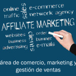logo comercio y marketing